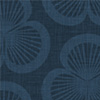 thumbnail of the Clamshells Patterned Wallpaper for iPhone in the Ink colourway