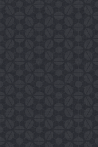 Retro-inspired wallpaper for iPhone 4S - Sputnik pattern derived from rotated champagne coupes, in the Charcoal colourway