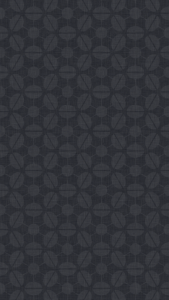 dark, patterned wallpaper for iPhone 5 - Sputnik pattern in the Charcoal colourway
