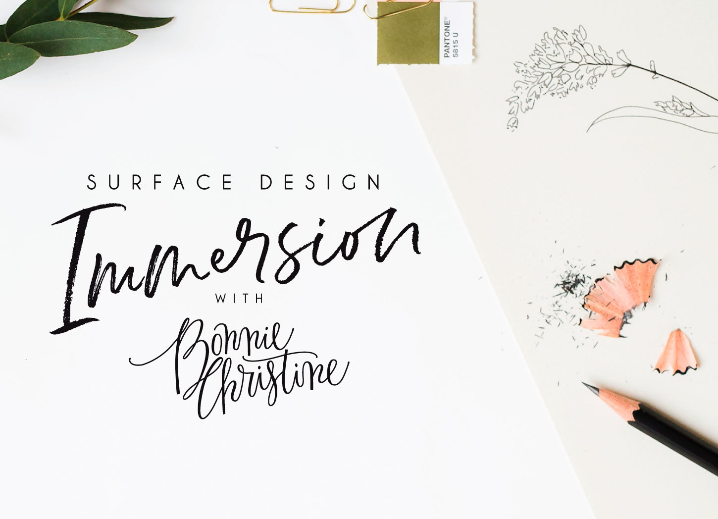 Surface Design Immersion with Bonnie Christine